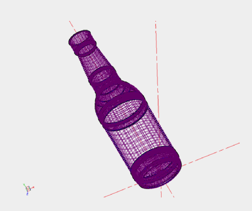 3D Container Geometry for Design Analysis